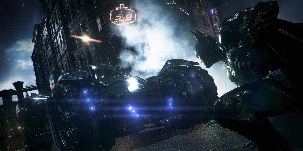 "Batmobile : une nouvelle version pour le jeu ""Batman : Arkham Knight"""