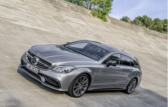 Le Mercedes CLS 2015 en version Shooting Brake 63 AMG !