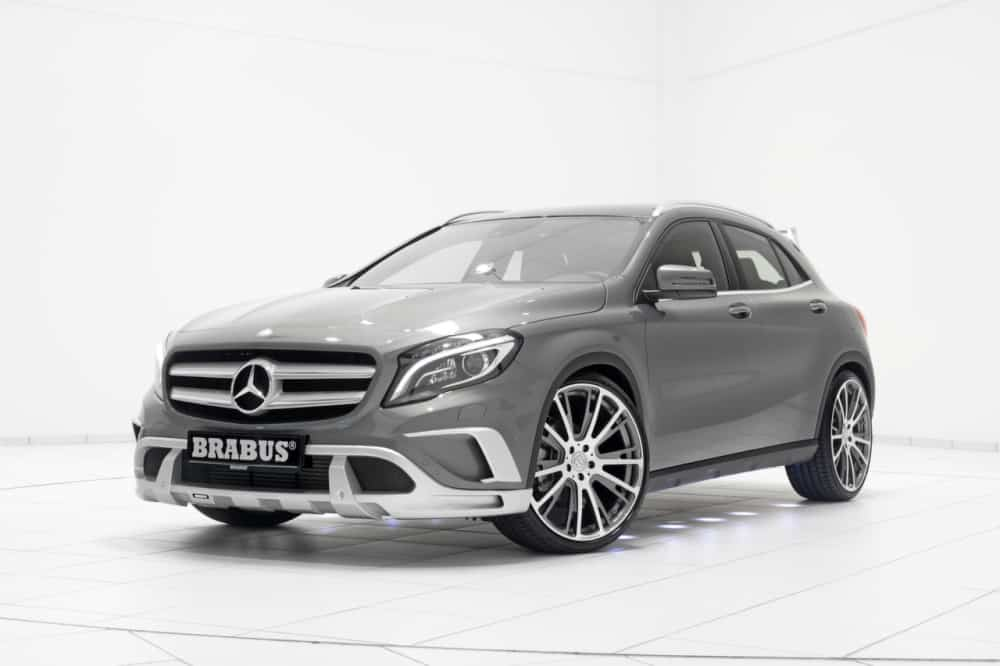 mercedes gla brabus pr pare le suv l 39 toile. Black Bedroom Furniture Sets. Home Design Ideas