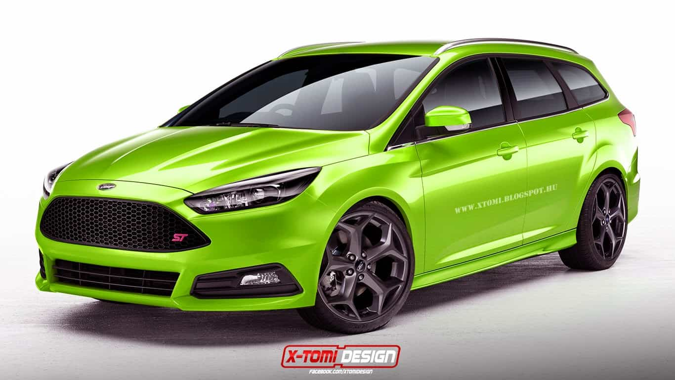 Ford Focus ST : le break et la berline Sedan imaginés par X-Tomi