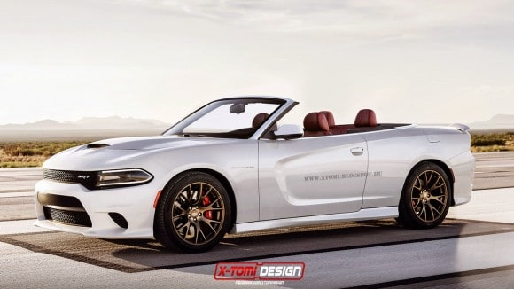 Dodge Charger SRT HellCat Convertible
