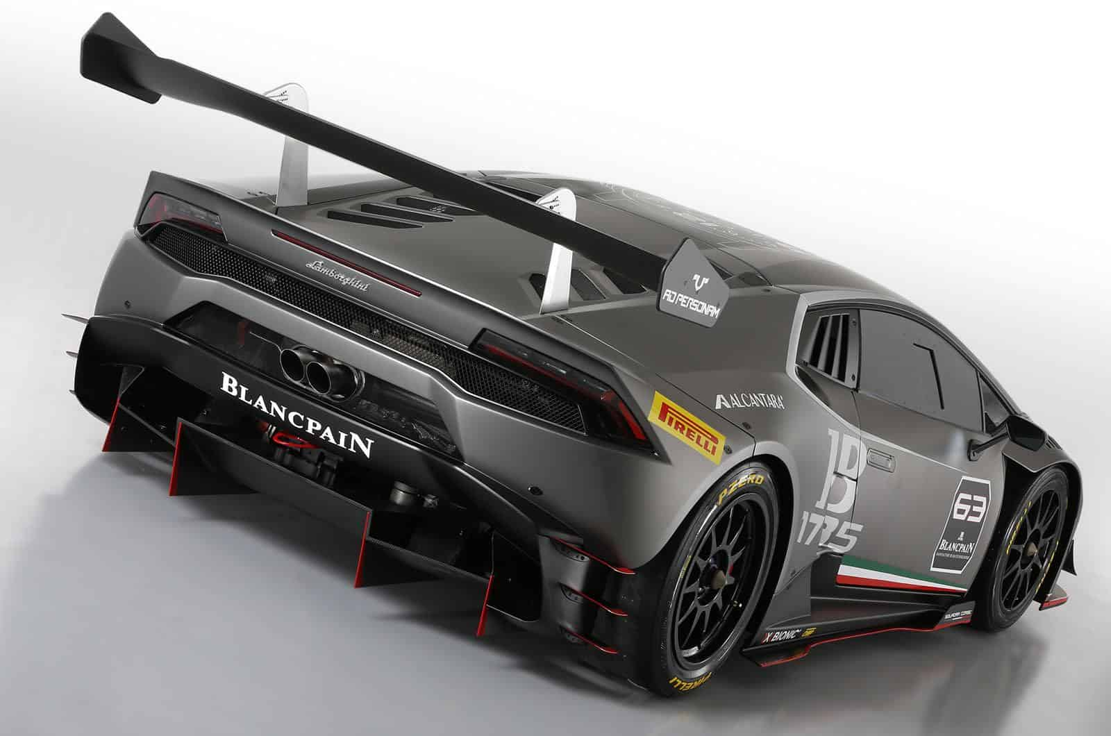 Pebble Beach : Lamborghini Huracan LP620-2 Super Trofeo