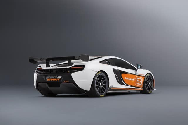 Pebble Beach 2014 : la McLaren 650S Sprint y sera