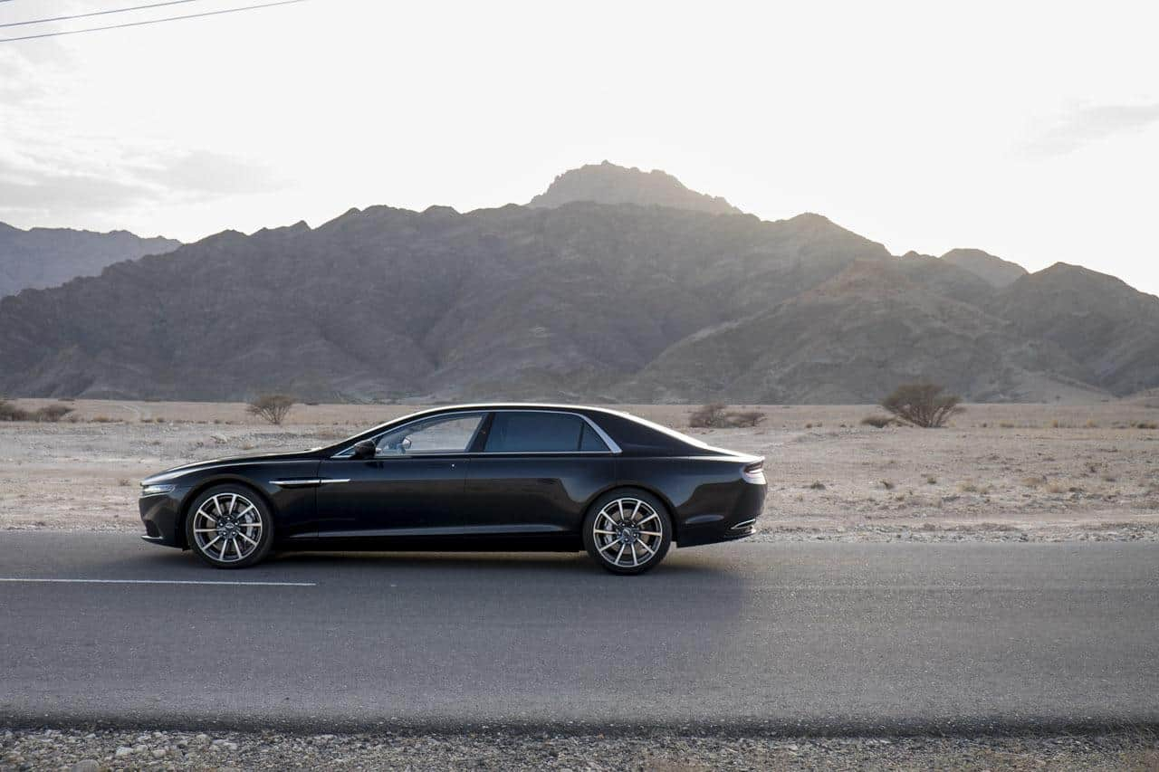 Aston Martin Lagonda : enfin les photos officielles