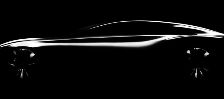 Infiniti Q80 Inspiration :  teaser d'une version Gran Coupé ?