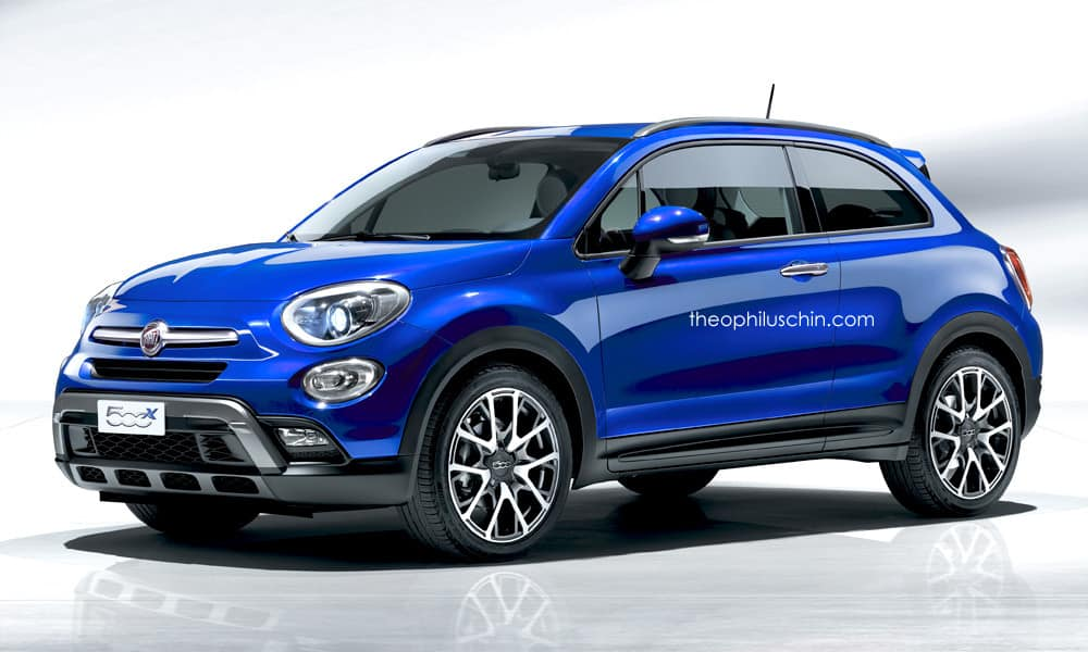 Fiat 500X Coupé : une version italienne virtuelle de la Paceman