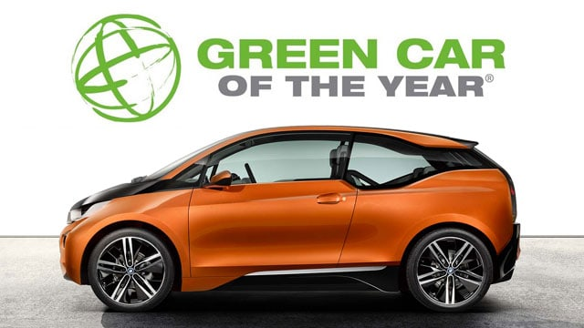 "BMW i3 : élue ""Green Car of the Year""  en 2014"