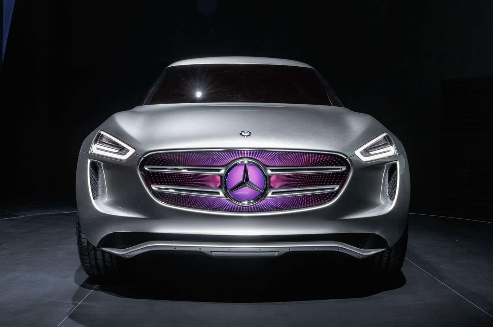 Los Angeles 2014 : le surprenant Mercedes G-Code Concept