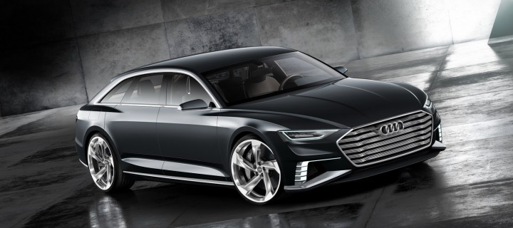Le Prologue Avant Concept, le break Audi du futur