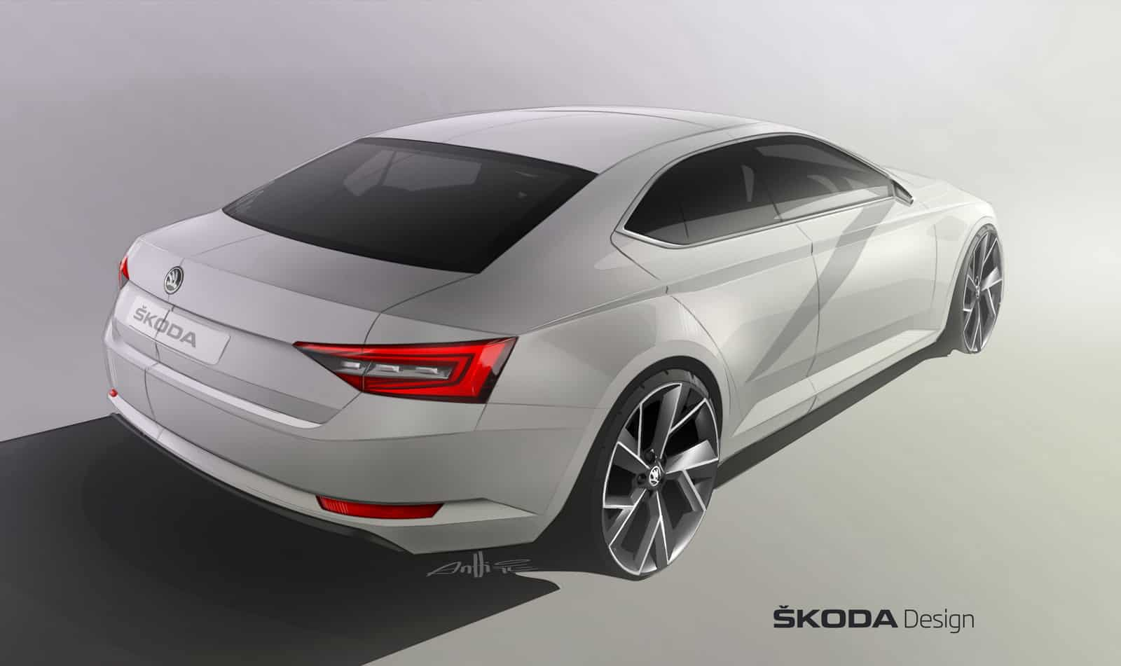 17/02/2015 : la Skoda Superb 3 s'officialisera