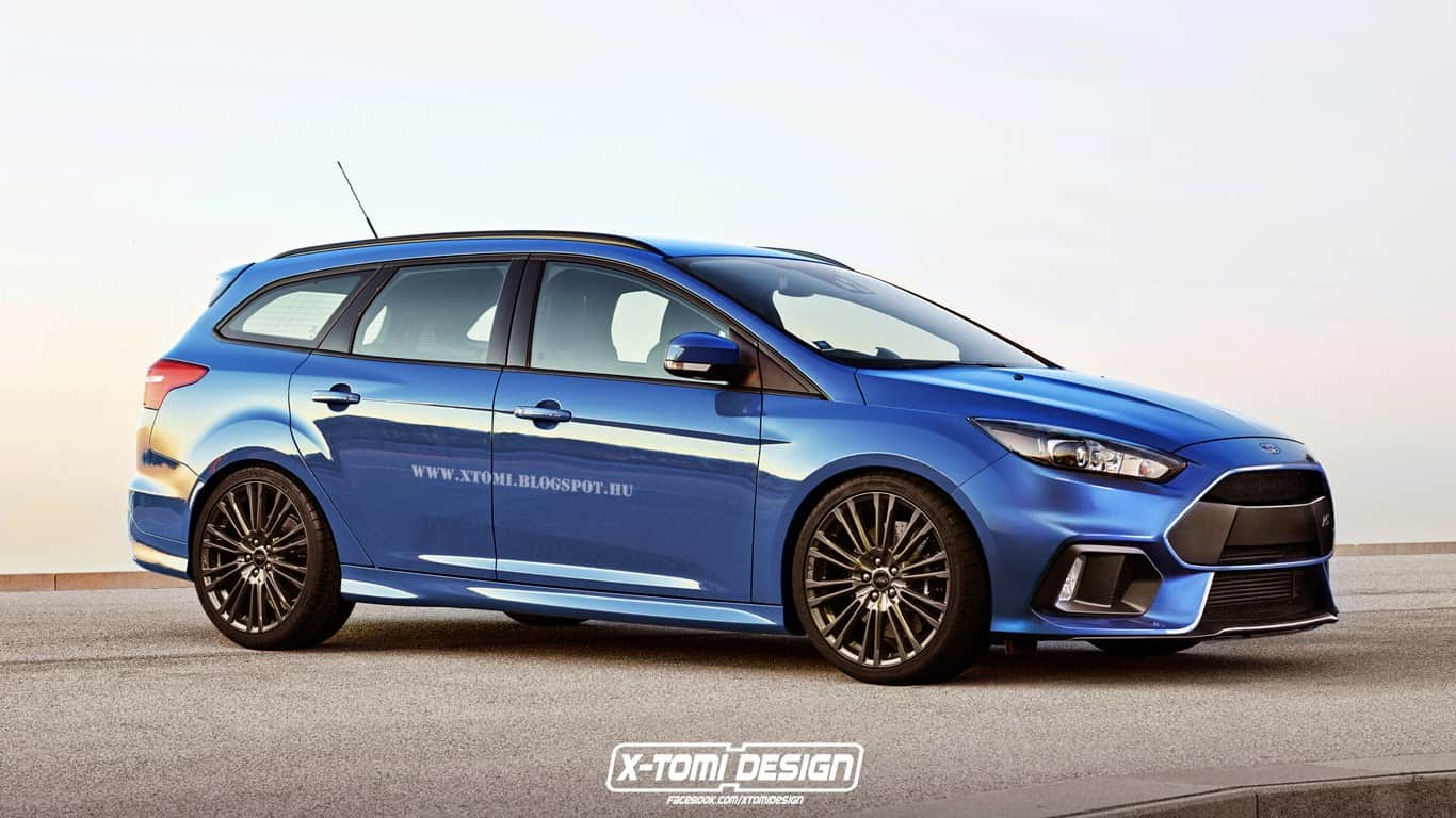 X-Tomi imagine les Focus RS Break et Sedan