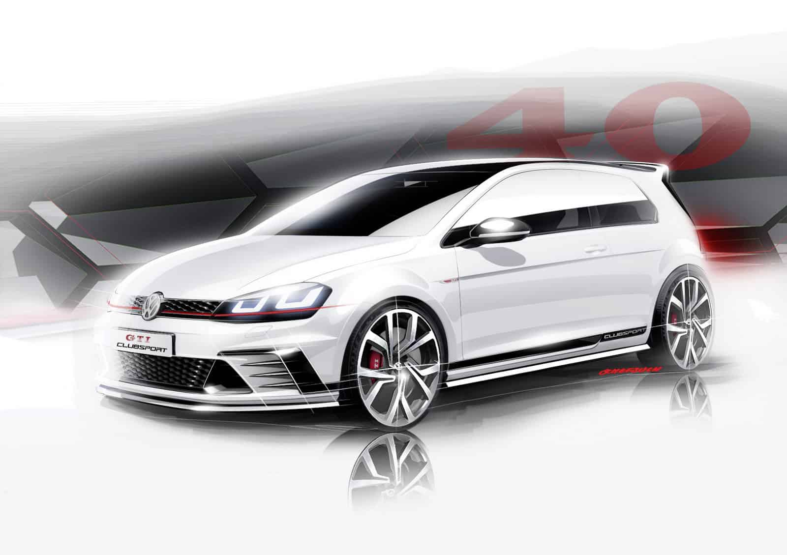 Le Clubsport s'invite sur la Golf GTI